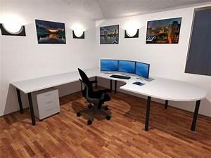 3D Office Wallpaper