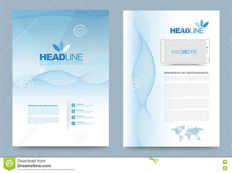 Book Report Brochure Template by Template Design Stock Vector Image 74353707