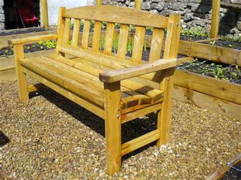 Outdoor Bench Seats by Wooden Outdoor Furniture Garden Bench Seats