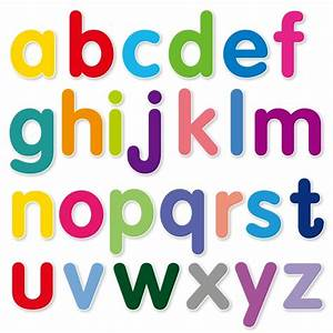 5 best images of printable abc letters lower case alphabet With alphabet lower case letters