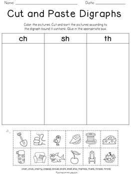 digraph phonics worksheets kind worksheets