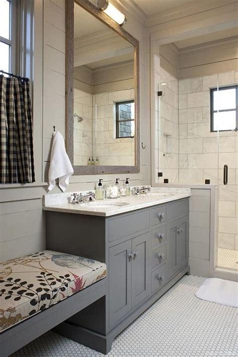 Modern Farmhouse Bathroom Vanity Lighting by 21 Awesome Modern Farmhouse Bathroom Vanity Ideas For
