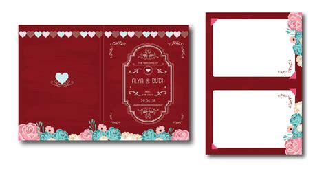 desain undangan pernikahan simple elegan unik pilihan