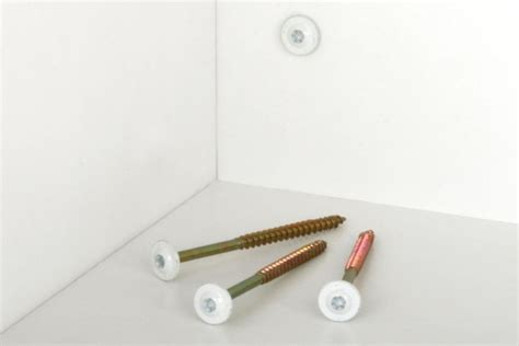 Grk Fasteners Cabinet Screws by White Cabinet Screws Quot Disappear Quot On White Cabinets Pro