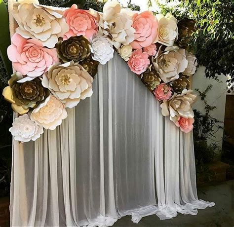 pin  adrn  wedding diy wedding backdrop paper