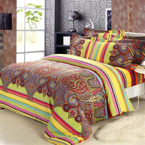 bohemian style comforter sets aliexpress buy 2015 new brushed cotton bohemian