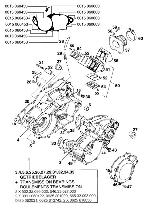 250 Motorcycle Engine Diagram by Ktm Fiche Finder Engine 250300 93 Spare Parts For The
