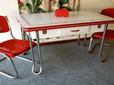 retro kitchen table youtube