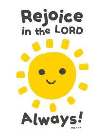 Rejoice in the Lord Always Philippians 4