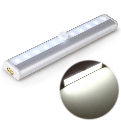 cupboard battery powered kitchen lighting battery operated led drawer cabinet light with pir 9529