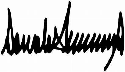 Trump Signature Donald Handwriting Analysis Svg Alarmed