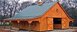 horse barns prefabricated barns horizon structures With barn stalls for sale