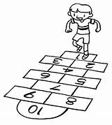 Hopscotch Template Test Coloring Pages Production Proprofs Pretest Sketch Written Pre sketch template