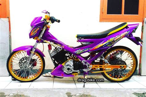 Modifikasi Motor Fu by Modifikasi Motor Suzuki Satria Fu Thailook Holidays Oo