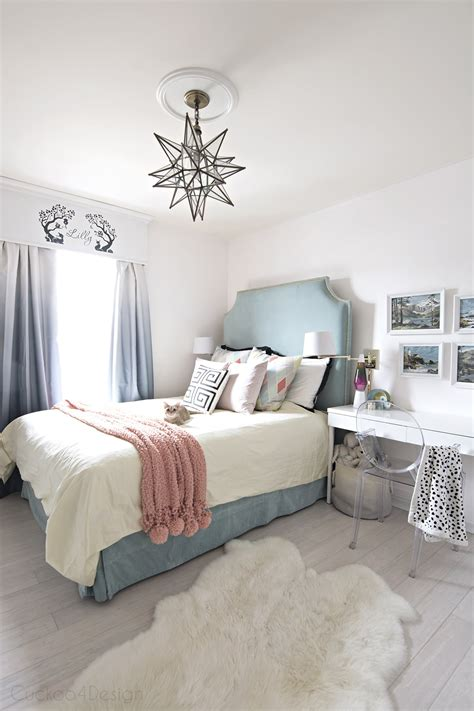 teal turquoise coral and yellow bedroom