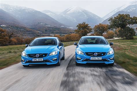 2017 Volvo V60 And S60 Polestar First Drive Review