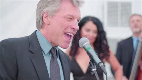 Jon Bon Jovi Sings Livin Prayer Wedding Video
