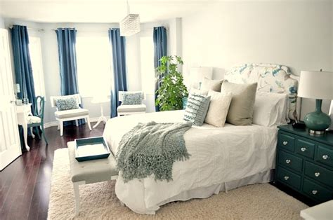 Master Bedroom Makeover Via Living Beautifully