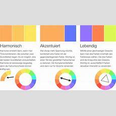Komplementärfarben Farben Richtig Miteinander Kombinieren