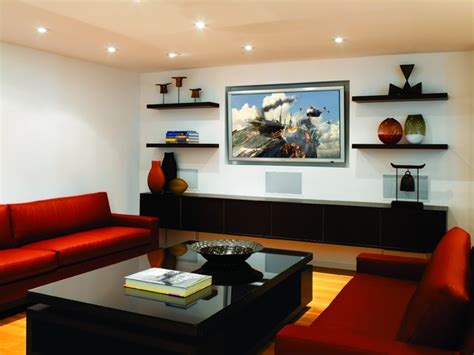 beverly hills media room modern home theater los