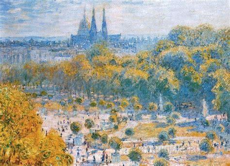 le jardin des tuileries claude monet paintings
