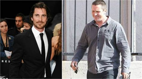 Christian Bale Looks Unrecognisable Once Again New