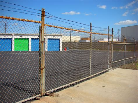 Gates, Fences Provide Protection For Self Storage Facilities