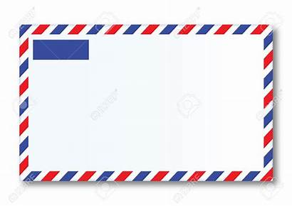 Mail Letter Air Airmail Stickers Labels Cliparts