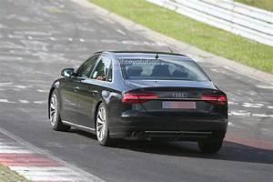 Audi S8 2017 : spyshots 2017 audi a8 test mule spotted at the nurburgring autoevolution ~ Medecine-chirurgie-esthetiques.com Avis de Voitures