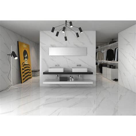 carrelage marbre blanc carrelage gr 232 s c 233 rame effet marbre poli blanc statuary