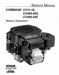Kohler Service Manual 12 690 01 For Cv11