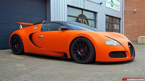 Matte Orange Bugatti Veyron Wrap By Jd Customs