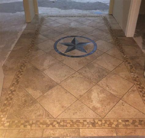 tile flooring tx texas stars texas star medallion