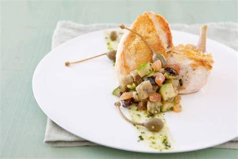 cours de cuisine atelier des chefs recette de suprême de volaille contisé à la purée de