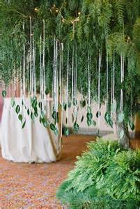 wedding altar decorations 11 creative ways to use greenery in your wedding tulle