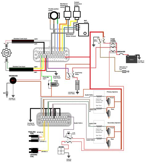 O2 Sensor Wiring Diagram Siemen by How To Megasquirt Your 2nd Rx 7 Wire The Ecu Panel