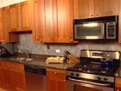 easy backsplash for kitchen an easy backsplash made with vinyl tile hgtv