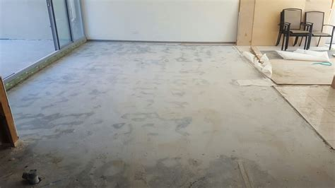 tile glue removal melbourne concrete