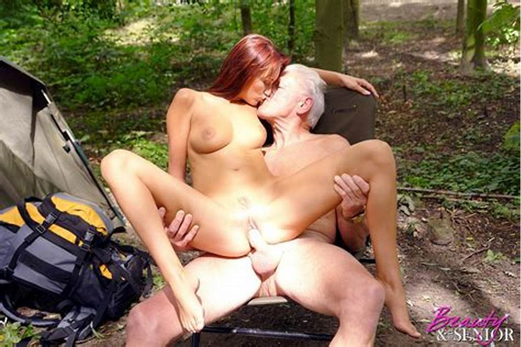 #Redhead #Teen #Hottie #Seduces #A #Wealthy #Senior #On #A #Camping