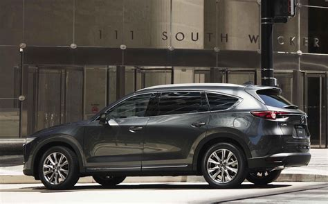 Malaysia model with options shown. Mazda CX-8 confirmed for Australia, new diesel-only 7-seat ...