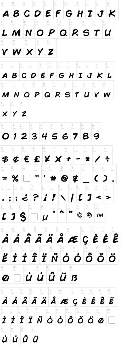 Comic Book Font | Comic book font, Comic font, Comic books