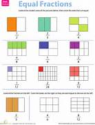 Equivalent Fractions Worksheet Grade 4 Third Grade Math Worksheets Fraction Practice Equivalent Fractions