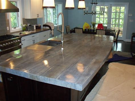 Concrete Countertops  Eclectic  Kitchen  New York By