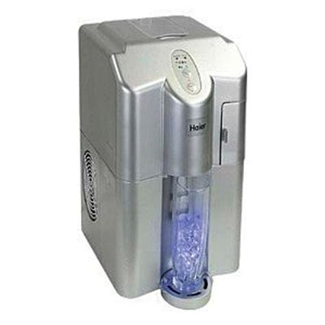 table top ice machine haier hpimd25b ice cube maker table top with ice