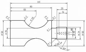 Tutorial Lathe 1 - 2D Construction of a Part for Turning