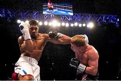Anthony Joshua Boxing Tyson Heavyweight Mike Champion