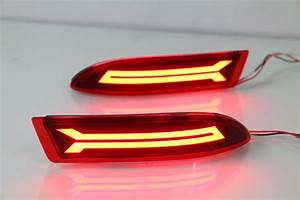 Eosuns Led Rear Bumper Light  Rear Fog Lamp  Brake Light