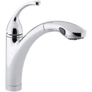 kohler kitchen faucet reviews kohler forté single or 3 kitchen sink faucet