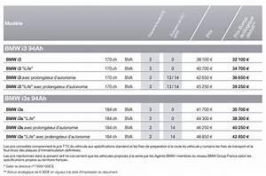 Tarif Bmw I3 : nouvelles bmw i3 i3s prix finitions et quipements en france ~ Medecine-chirurgie-esthetiques.com Avis de Voitures