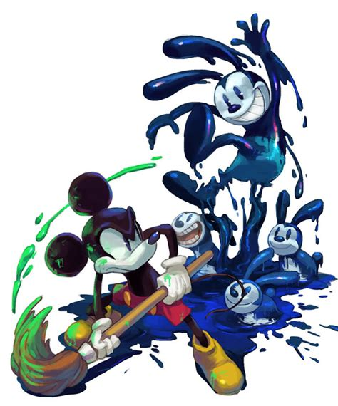 Epic Mickey By Leakingdomhearts On Deviantart